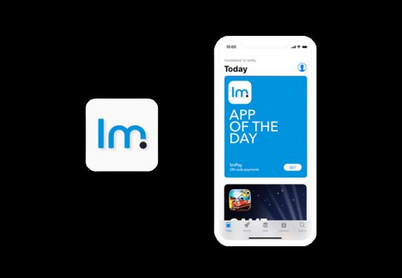 Разработка логотипа «ImPay»